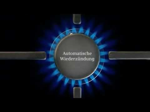 Siemens Gaskochfelder mit flameTronic