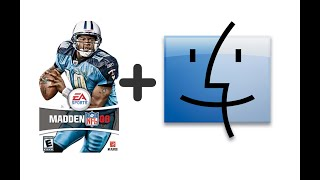 Madden 08 Mac Gameplay