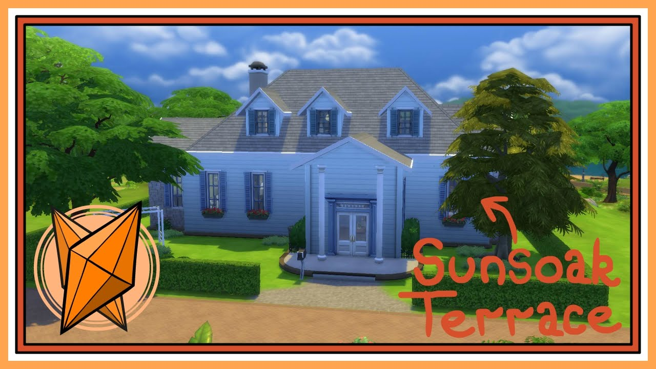 The sims 4 house building 1 sunsoak terrace youtube for Where can i watch terrace house