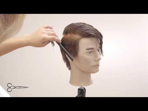 Homme contour oreille coté droit G