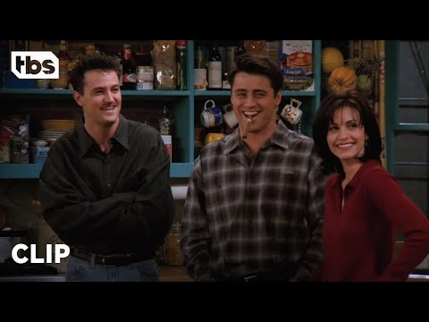 Friends: Joey and Chandler are Obsessed with Richard (Season 2 Clip) | TBS