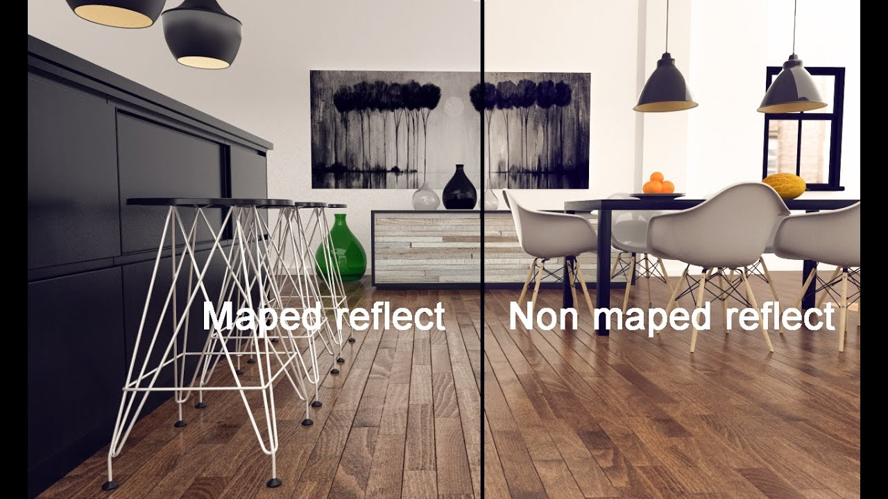 3ds Max Vray Material Maped Reflect No Plygin