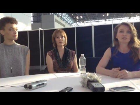 Britne Oldford, Gale Anne Hurd & Natalie Chaidez Discuss Syfy's HUNTERS