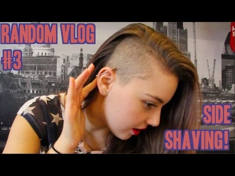 [Random Vlog #3]: Margo Got a Side Shave!
