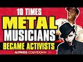 10 Times Metal Musicians Became Activists–From Marilyn Manson to Rage Against The Machine