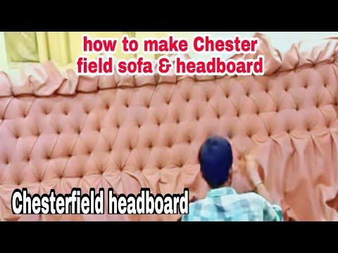 headboard Chesterfield bed