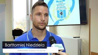 Piłkarze oraz kibice Stomilu Olsztyn zachęcają do oddawania krwi