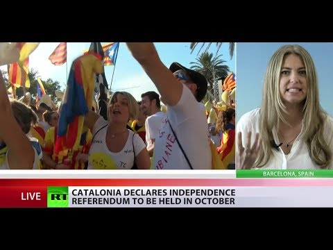 Catalonia sets date for landmark vote on independence from Spain