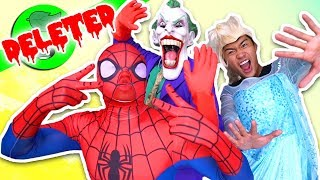 Super Secret Deleted Guava Juice Video 9999,99% (Guava vs Spiderman vs Elsa)