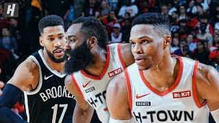 Brooklyn nets vs houston rockets - full game highlights   december 28, 2019 2019-20 nba season