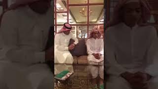 Usama Zehri   Meeting with imam masjid nabawi.
