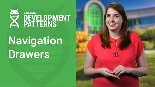 Navigation Drawer, DrawerLayout, and NavigationView (Android Development Patterns Ep 8)