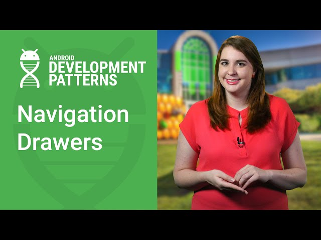 Navigation Drawer, DrawerLayout, and NavigationView (Android Development Patterns Ep 8)