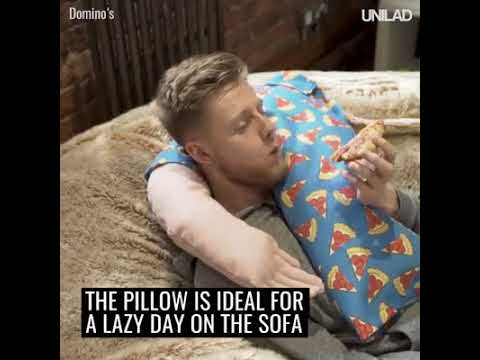 Nobody to cuddle on New Year's Day The 'boyfriend pillow' has got your back 🤗