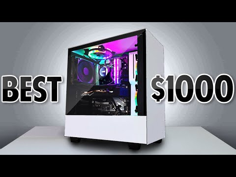 BEST $1000 Streaming/Gaming PC [Build Tutorial, Benchmarks]