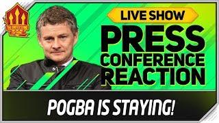 Solskjaer Press Conference Reaction! Manchester United vs Chelsea