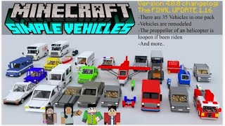 How To Download Simple Vehicles Resources Pack In Minecraft PE | Resource Pack For Minecraft PE