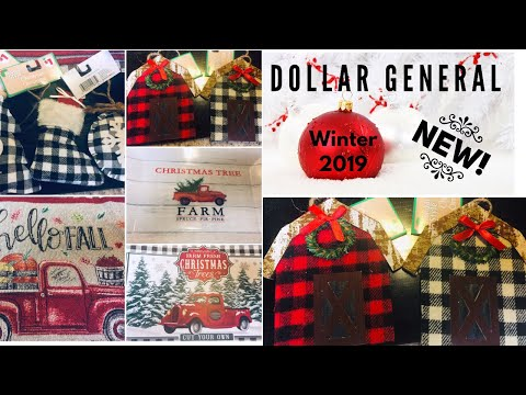 Dollar General Winter & Christmas New 2019