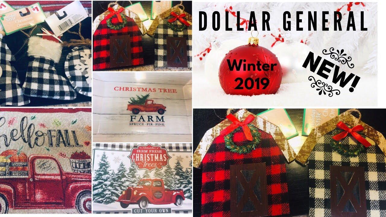 Dollar General Winter & Christmas New