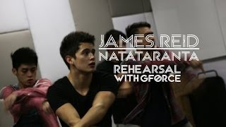 Repeat youtube video James Reid: Must watch Natataranta Dance Rehearsal [Diary Ng Panget OST]