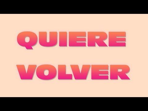 VOGAR, ENNE - Quiere Volver (Official Lyric Video)