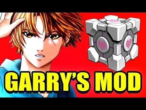 Gmod SCARY Companion Cube Portal Mod! (Garry's Mod)
