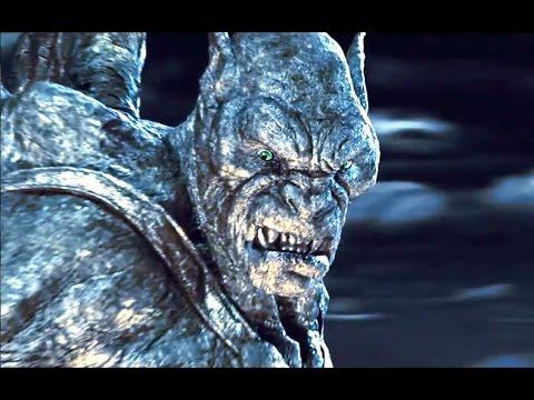 BEAST Demon vs Gargoyles Fight Scene - HD