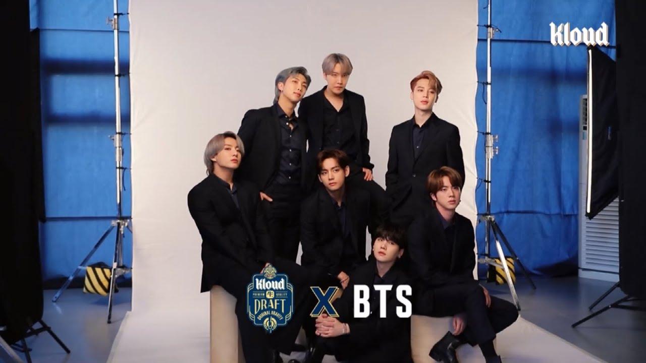 [롯데칠성][클라우드 X BTS] 클라우드 BTS TVC 메이킹 (short ver.)