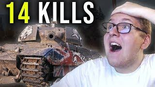 14 KILLS - World of Tanks