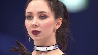 Елизавета Туктамышева Короткая программа Командный чемпионат мира по фигурному катанию 2021