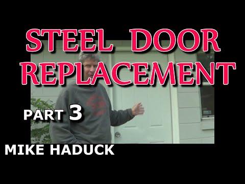 STEEL DOOR INSTALLATION  (Part 3 of 4) wood frame (Mike Haduck)
