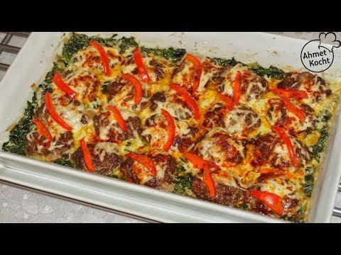 Tepsi Kebap mit Spinat | Ahmet Kocht | türkisch kochen | Folge 349