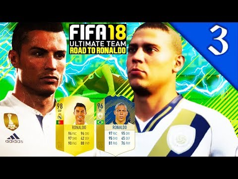 ICON 96 RONALDO GAMEPLAY! FIFA 18 ULTIMATE TEAM: ROAD TO RONALDO #3