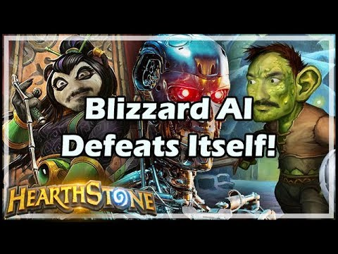 Blizzard AI Defeats Itself! - Boomsday / Hearthstone