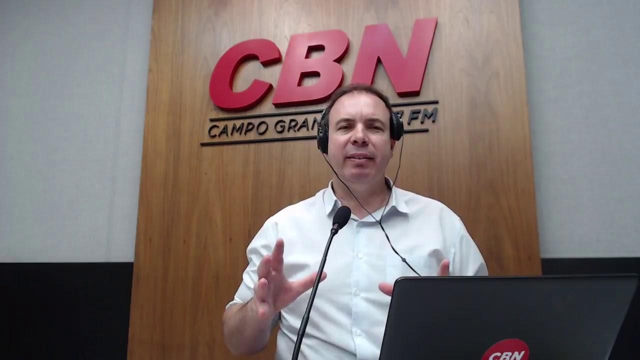 CBN Campo Grande (20/10/2020) - com Ginez Cesar