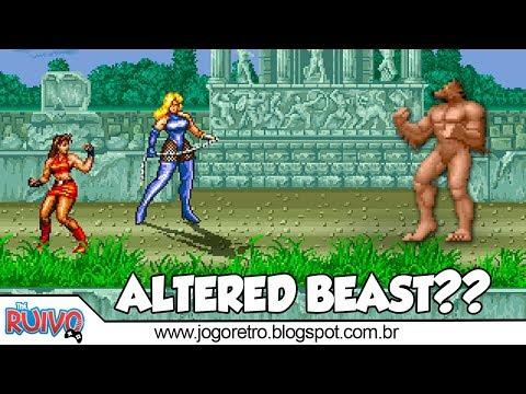 Streets of Rage em Altered Beast Arcade?!? (SOR 5.1 Remake MOD)