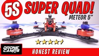"EMAX HAWK KILLER? - $199 HOBBYMATE METEOR 5"" - Honest Review & Flights"