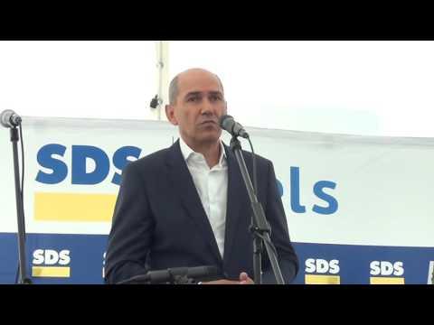 Janez Janša na srečanju članov Obljubljanske regije SDS, Domžale, 24. 9. 2016