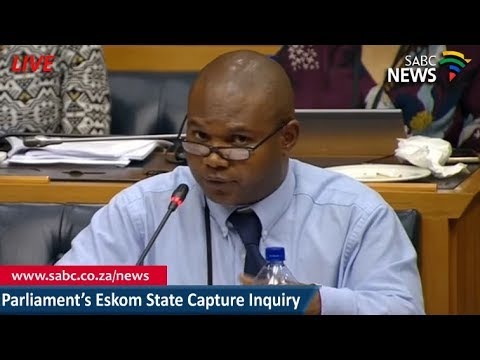 Parliament's Inquiry into State Capture in SOEs, 31 Jan 2018