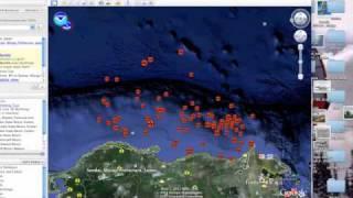 Google Earth Maps Japan Earthquakes Tsunami Free HD Video