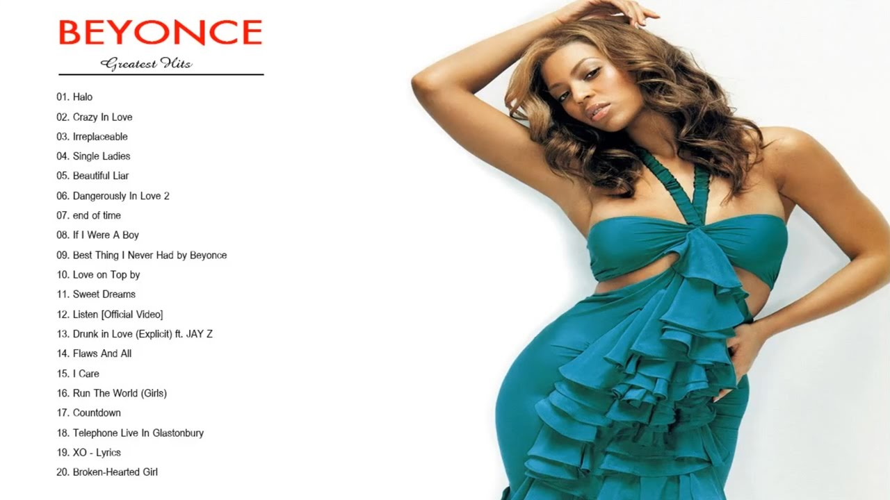 Beyoncé Greatest Hits - Beyoncé Best Songs - YouTube Beyonce Songs
