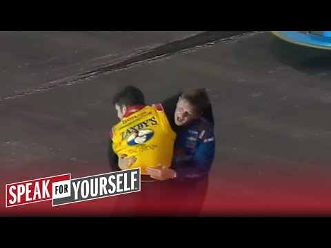 This NASCAR Camping World Truck Series fight was embarrassing | SPEAK FOR YOURSELF