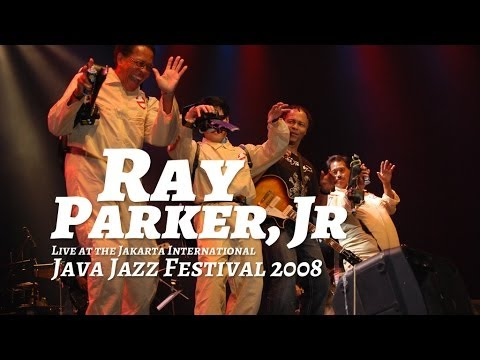"""Ray Parker Jr. """"Ghostbusters"""" Live at Java Jazz Festival 2008"""
