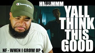 {{ Philosopher Reacts To }} NF - When I Grow Up