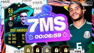 WILL AJ3 DISCARD MY 3M+ COIN CARD? MOMENTS DOS SANTOS 7 MINUTE SQUAD BUILDER - FIFA 21 ULTIMATE TEAM