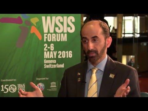WSIS FORUM 2016 INTERVIEW: H.E Majed El Mesmar,  Deputy Director General, TRA, UAE
