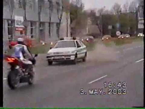 Lithuanian Police vs. Motorcycle
