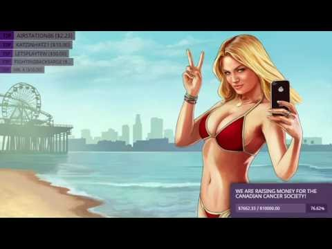 nL 24 Hour Charity Stream 2016 [PART 6] - Grand Theft Auto 5 (and the $10,000 Goal)