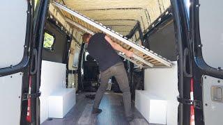 Sprinter Van Build : Bed | Garage | Floor