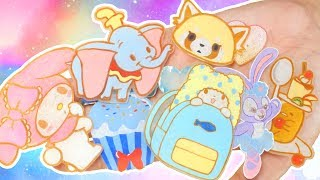 Cute Sanrio & Disney Shrink Plastic Pieces | DIY Update!